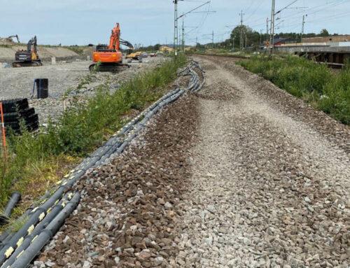 Delbara skyddsrör till Varbergstunneln