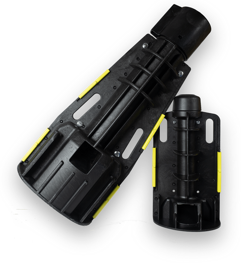 Snap Base™ - Fundament für Straßenbeleuchtung und diverse Schilder und Masten.